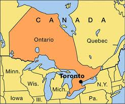 Where Ontario is